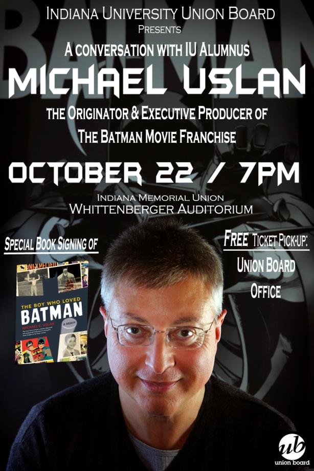 Michael Uslan Lecture