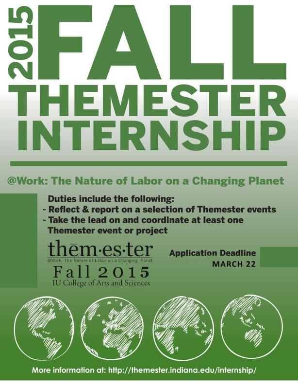 Themester internship poster
